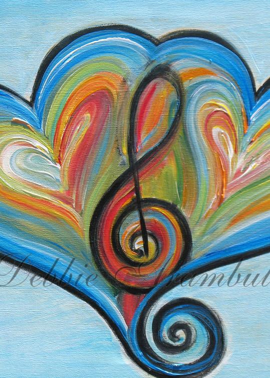Two Heart Rhythm And Blues Art   Heartworks Studio Inc
