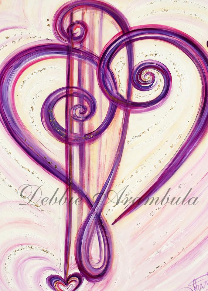 From The Bottom Of Her Heart Art   Heartworks Studio Inc