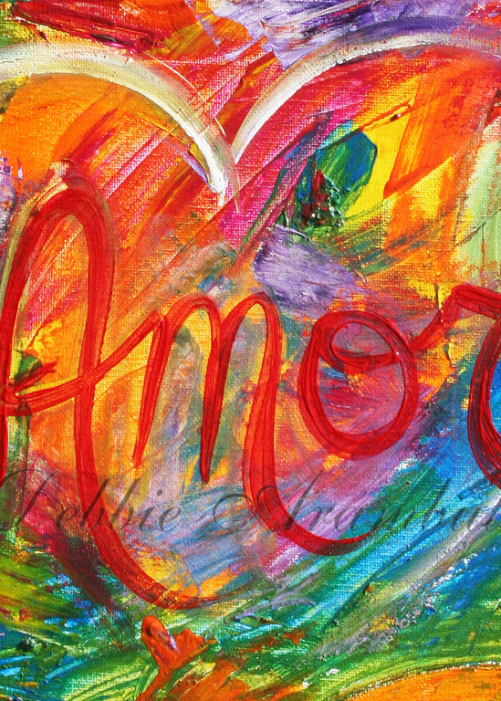 Amor Abstract Art | Heartworks Studio Inc