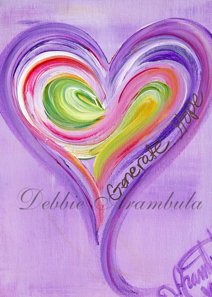 Generate Hope Art   Heartworks Studio Inc