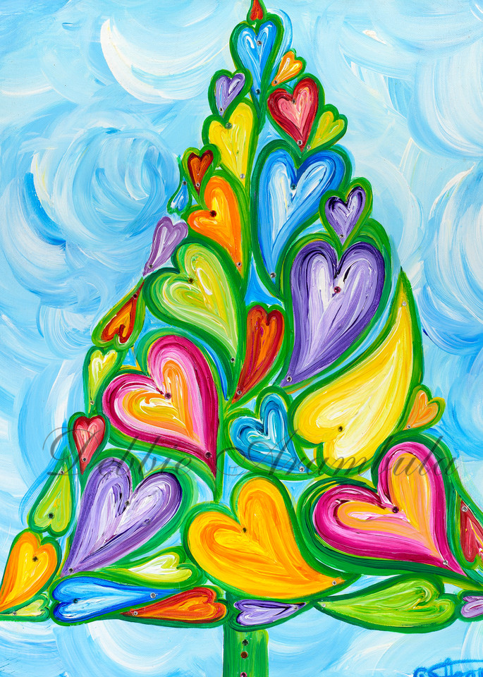 A Tree Of Love  Art   Heartworks Studio Inc