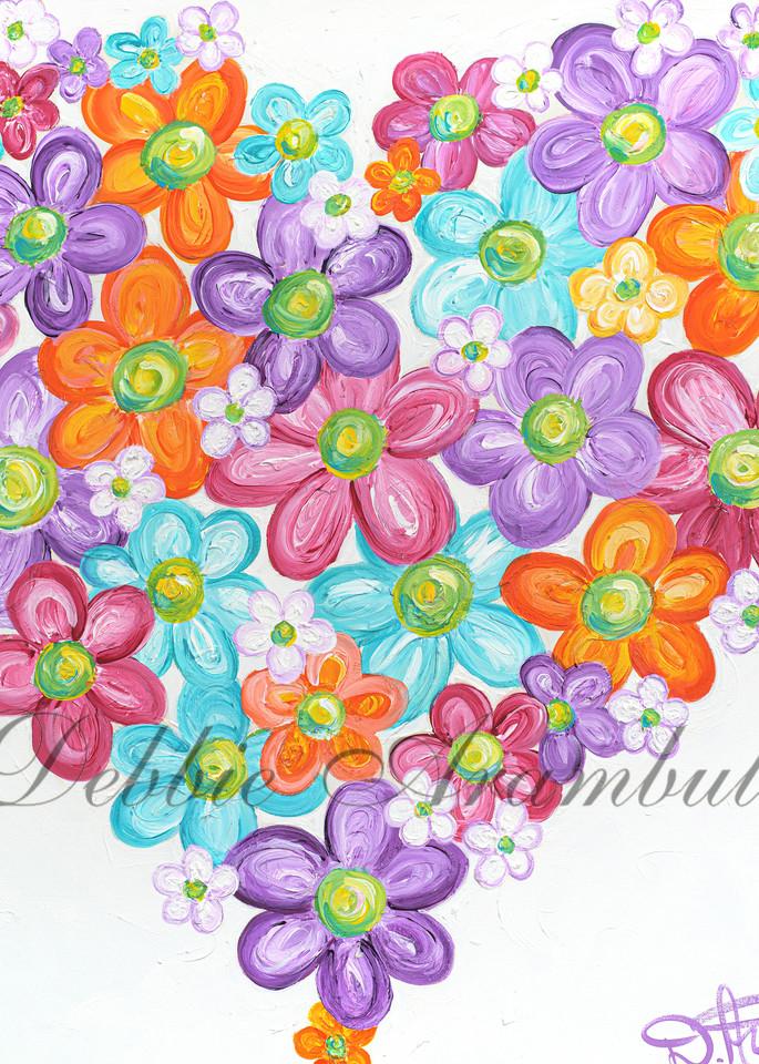 Twitterpated In Purple  Art | Heartworks Studio Inc