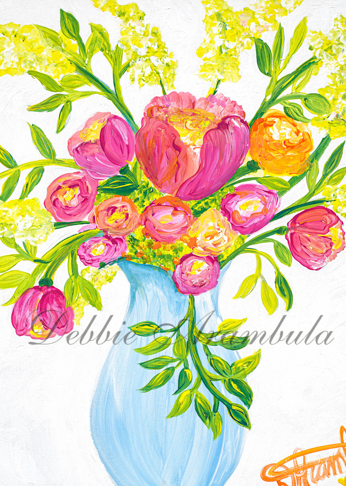 Bouquet Of Love Art | Heartworks Studio Inc