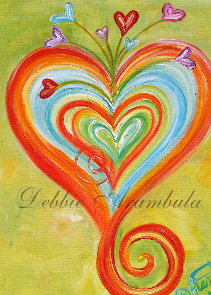 Blooming Abundance Art   Heartworks Studio Inc