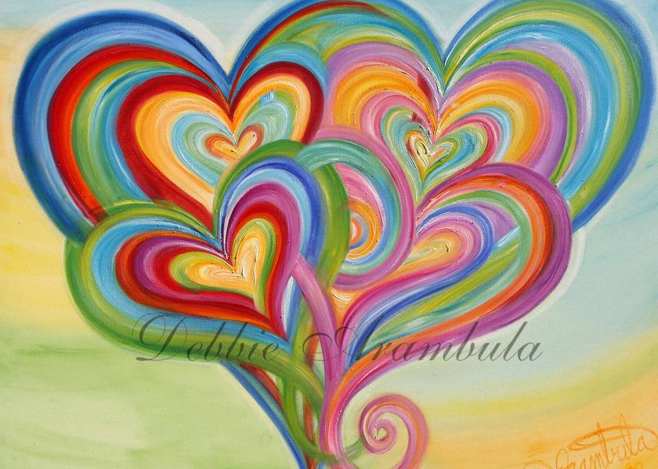 Rainbow Family Art | Heartworks Studio Inc