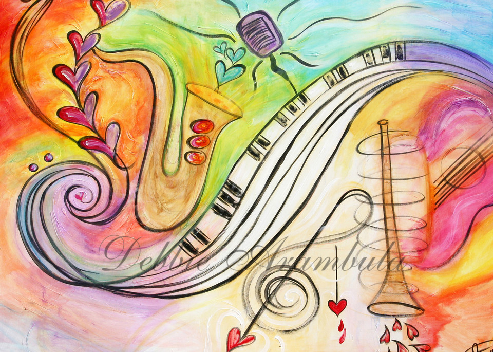 All Jazzed Up Color Art | Heartworks Studio Inc