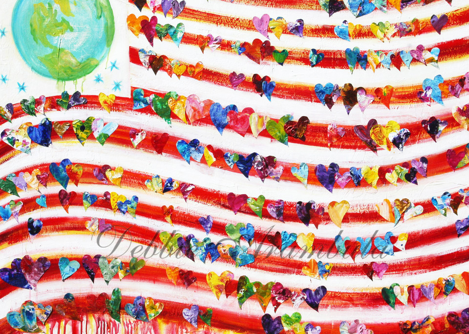 What The World Needs Now Art   Heartworks Studio Inc