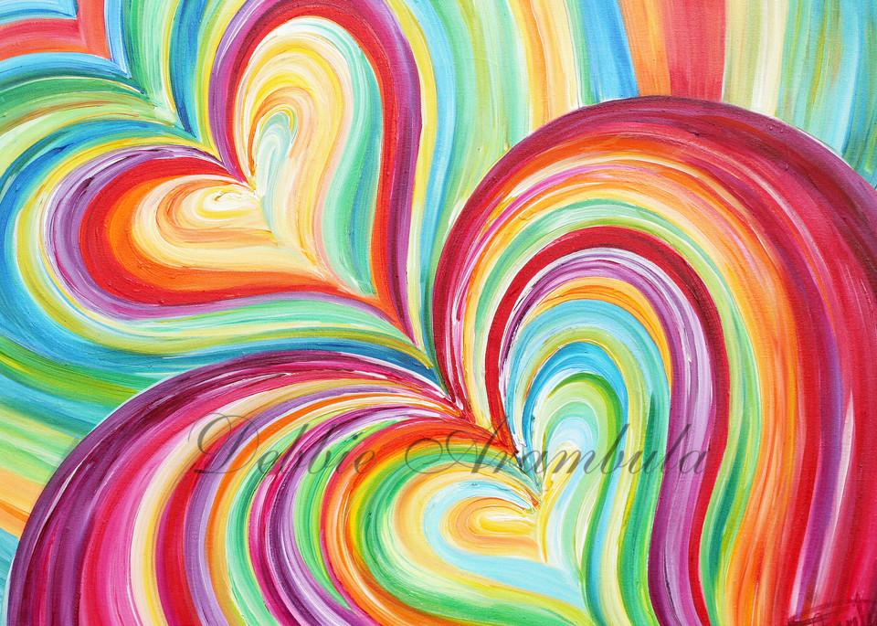Enveloping Love Art | Heartworks Studio Inc