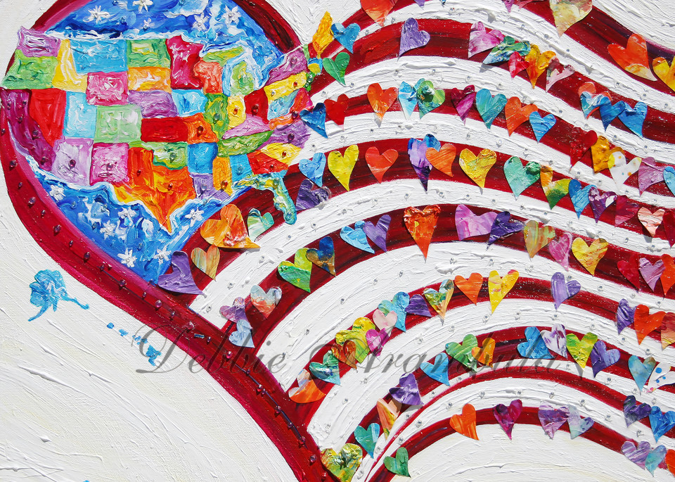 United We Stand Art | Heartworks Studio Inc