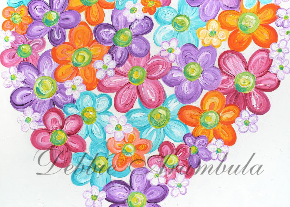 Twitterpated In Purple  Art   Heartworks Studio Inc