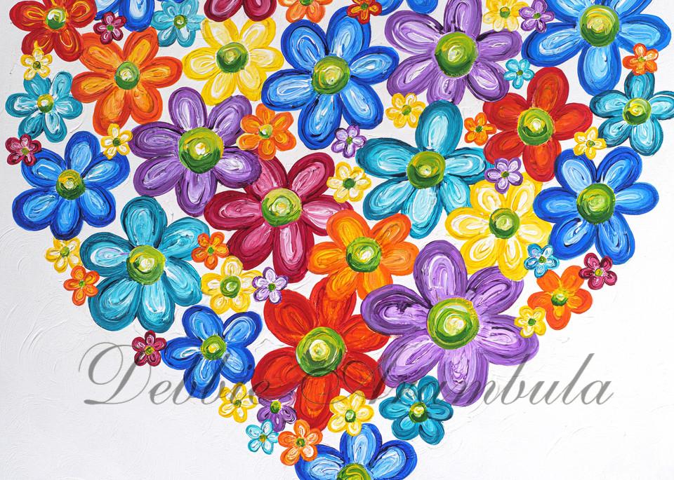 Twitterpated In Cobalt Blue Art | Heartworks Studio Inc