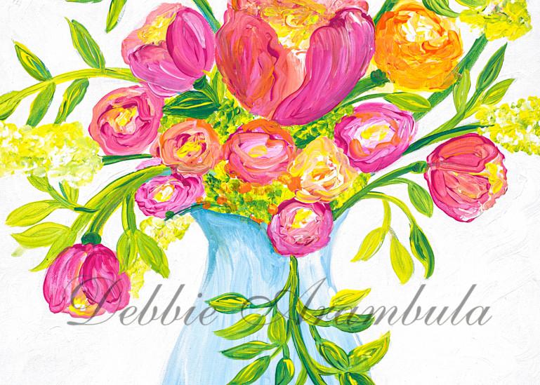 Bouquet Of Love Art   Heartworks Studio Inc