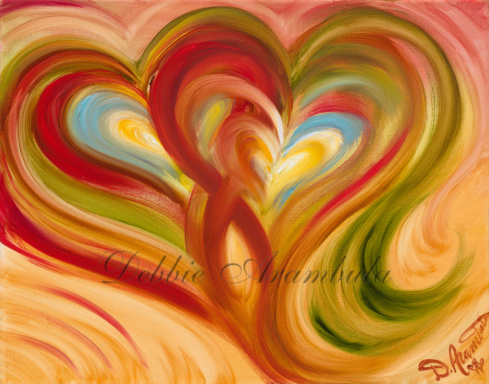 Two Heart Tango Art | Heartworks Studio Inc