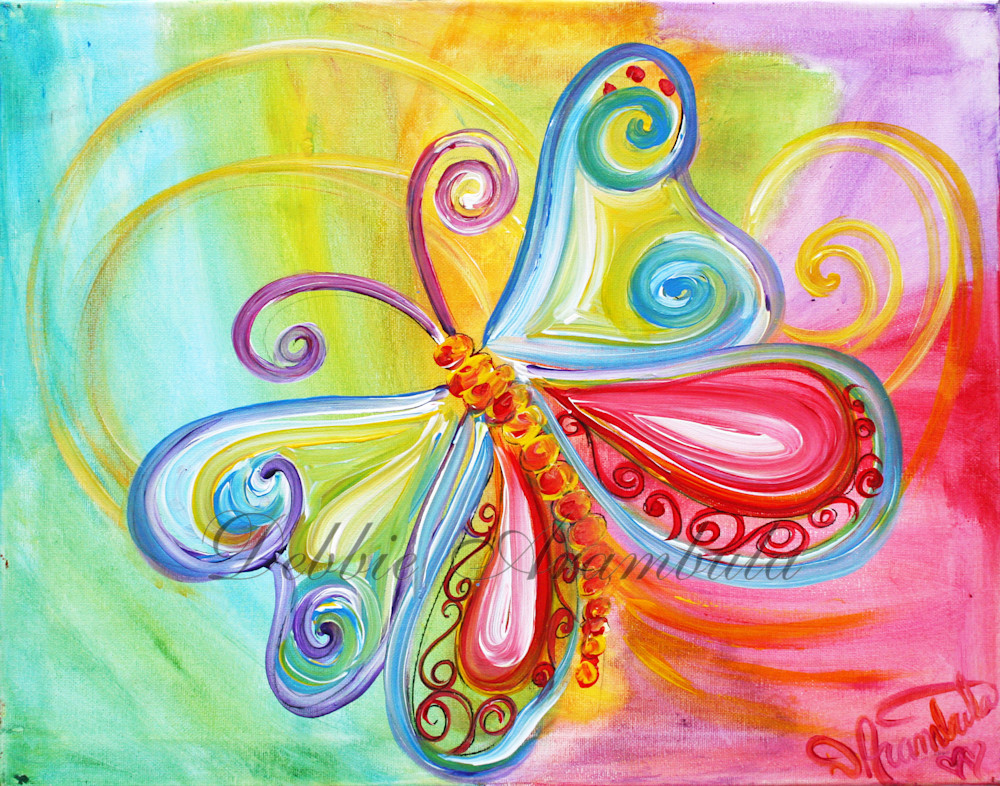 Flutterby Art | Heartworks Studio Inc