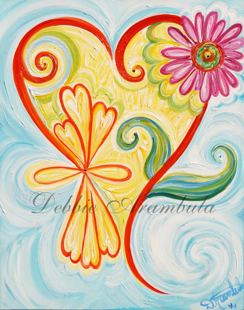 Infinity Bouquet Art   Heartworks Studio Inc
