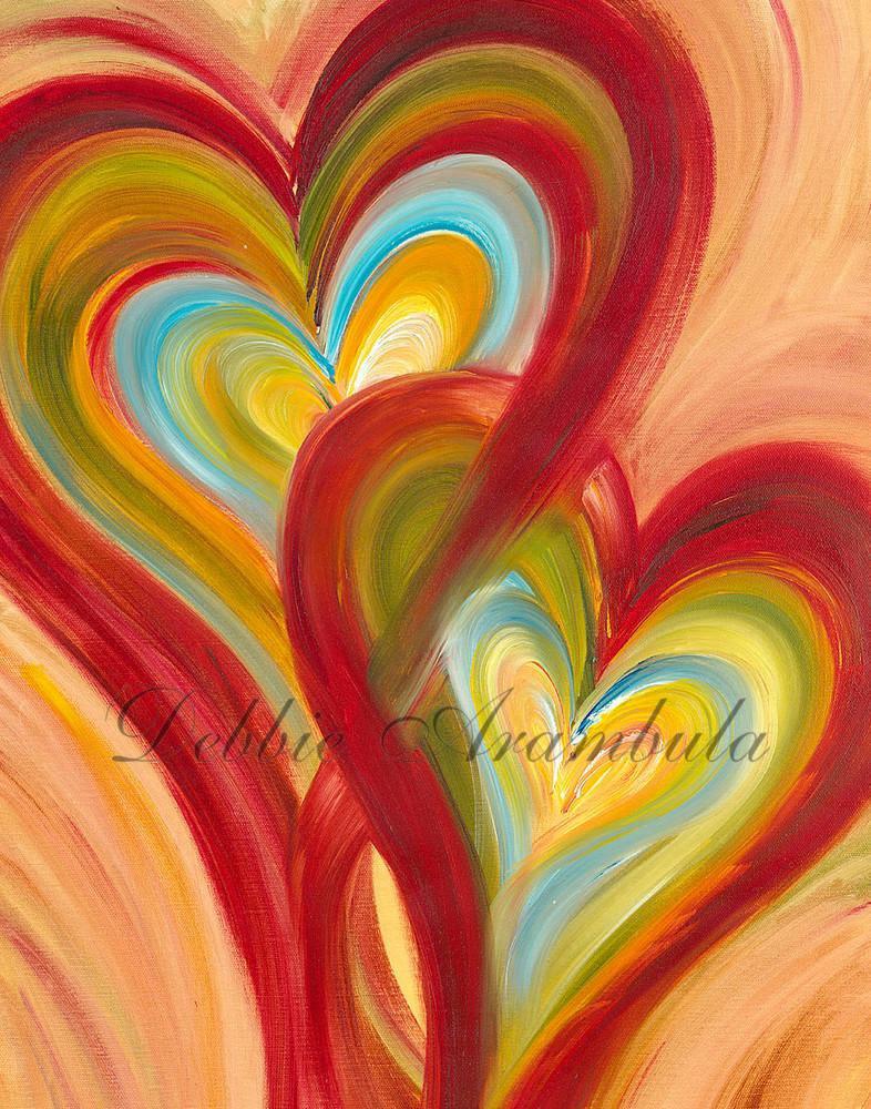Interwining Cropped Art | Heartworks Studio Inc