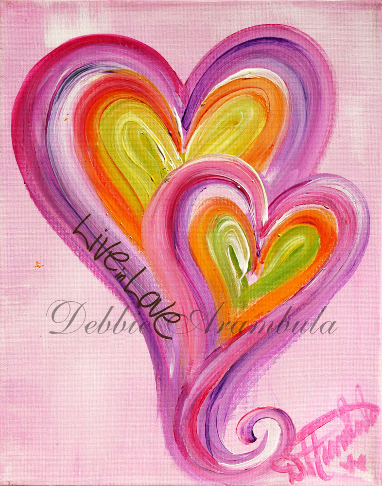 Live In Love Art | Heartworks Studio Inc