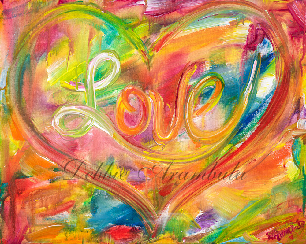 Love Abstract 2 Art | Heartworks Studio Inc