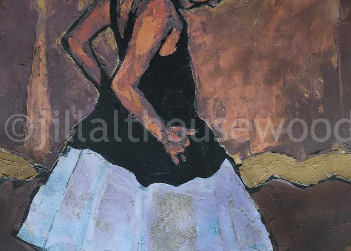 Little Dancer V Art | jillalthousewood