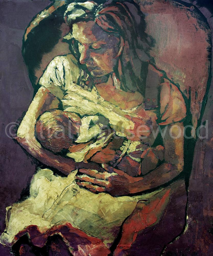 Modern Madonna Art   jillalthousewood