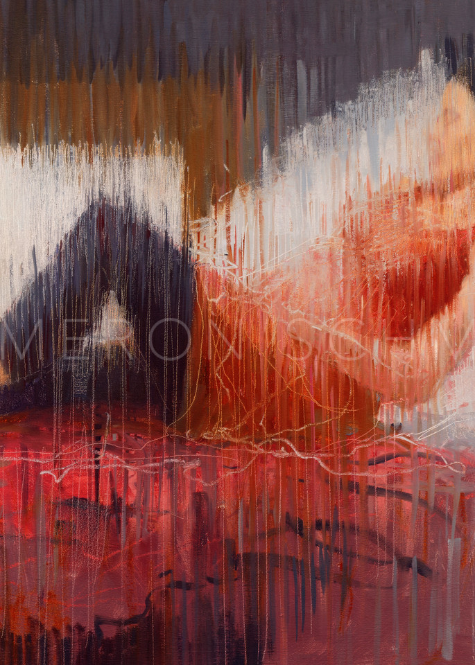 Encountering Time to Dream oil painting