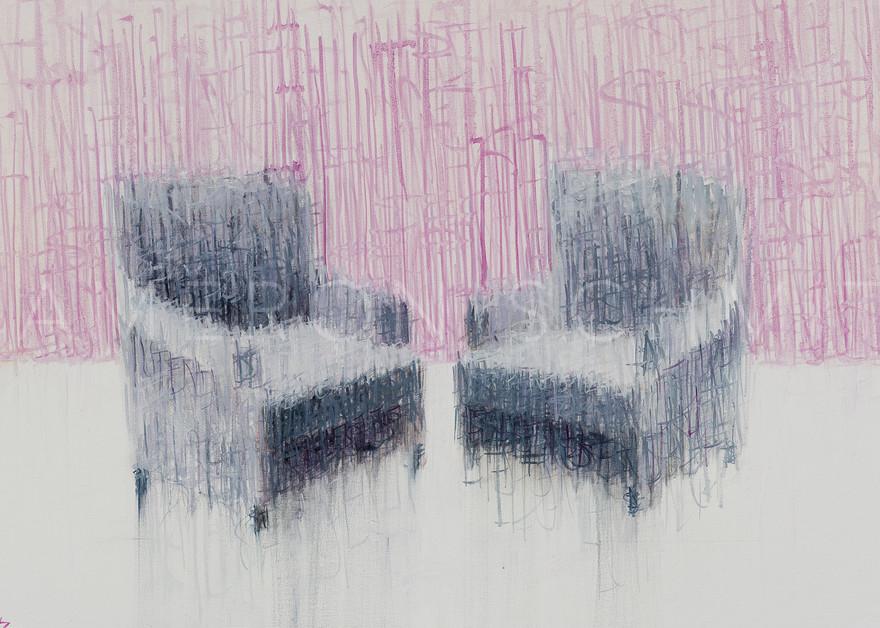 Listen xxii oil on canvas