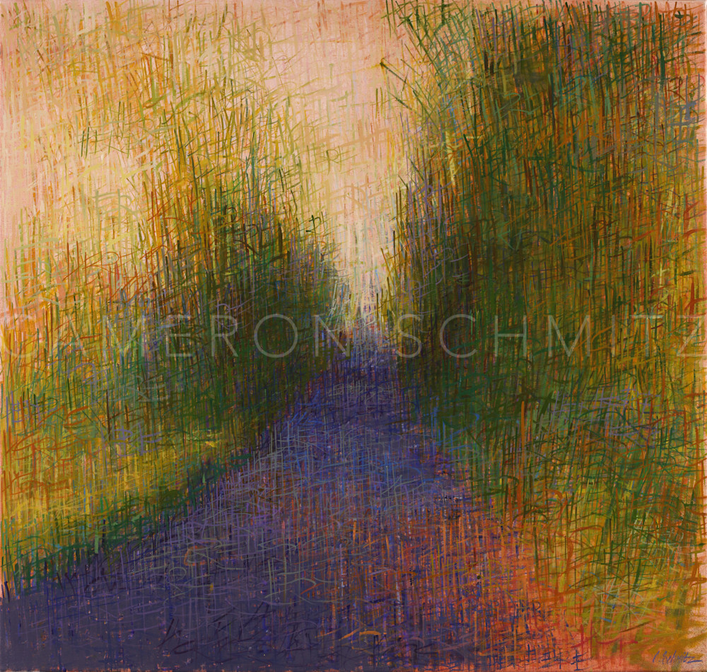 Here XIV oil on canvas