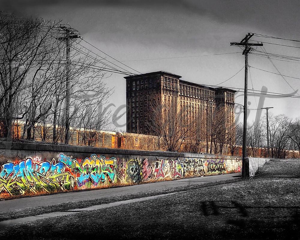 0018 Spot Color No Text Art | Picture Detroit