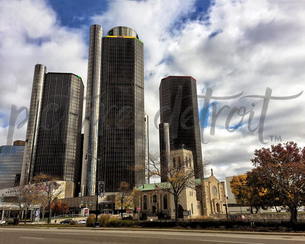 0027 Ren Cen Mariners Church Art | Picture Detroit