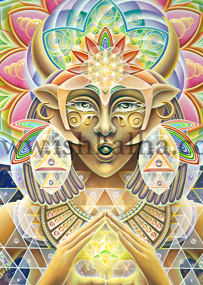 She Hath Ore - Fine Art Prints - The Art of Ishka Lha