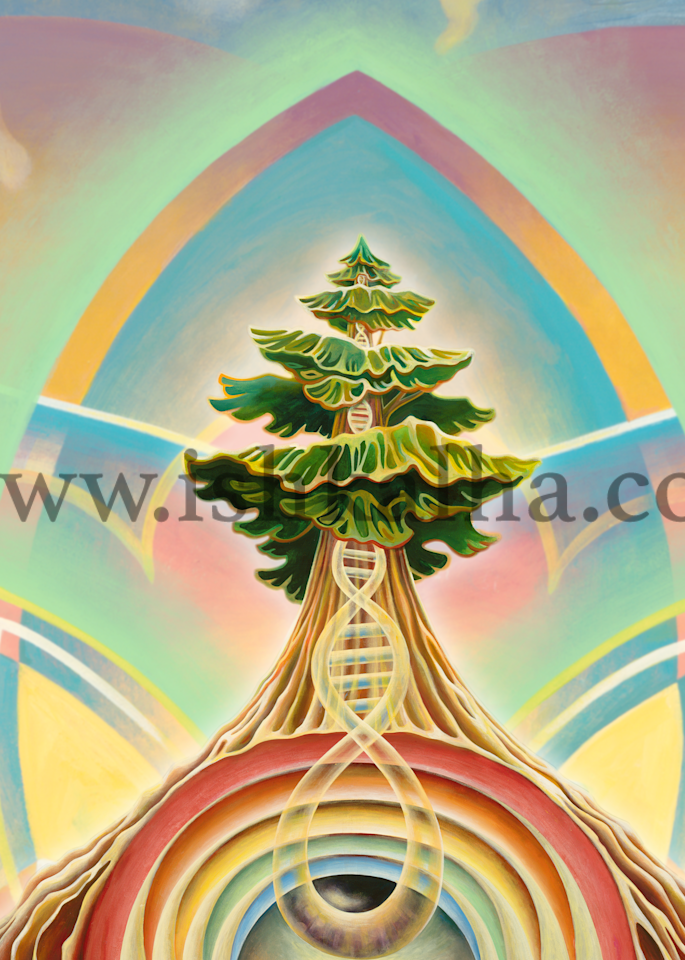 Tree Pose Art | The Art of Ishka Lha