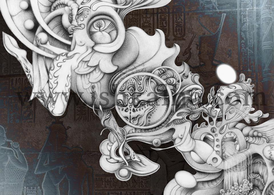 Birth of a Nexus - Fine Art Prints | Ishka Lha