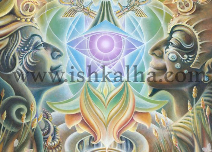 The One Eye Love - Fine Art Prints - The Art of Ishka Lha