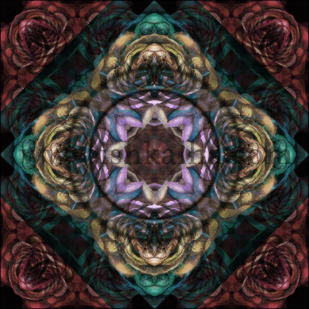 Grace - Mandala Art Print for Sale - The Art of Ishka Lha