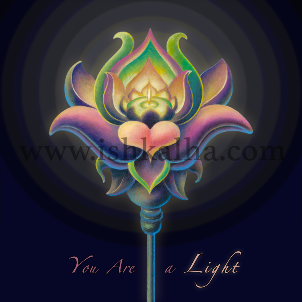 You are a Light - Fine Art Prints for Sale - The Art of Ishka Lha