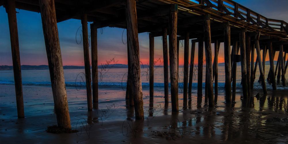 Capitola Pier Sunset Photography Art | FocusPro Services, Inc.