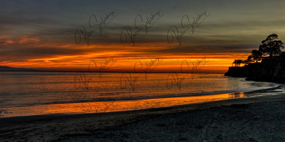 Capitola Beach Sunset Photography Art | FocusPro Services, Inc.