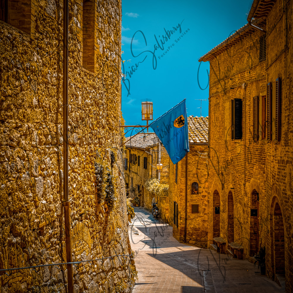 San Gimignano Afternoon Photography Art | FocusPro Services, Inc.