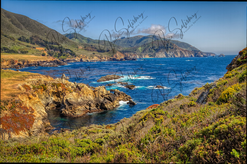 Pacific Coastline Photography Art   FocusPro Services, Inc.