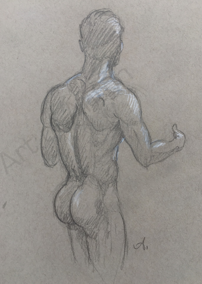 Art of Anton - pencil drawing by Anton Uhl