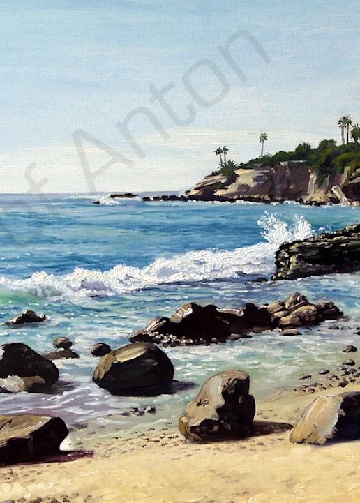 """Laguna"" by artist, Anton Uhl"