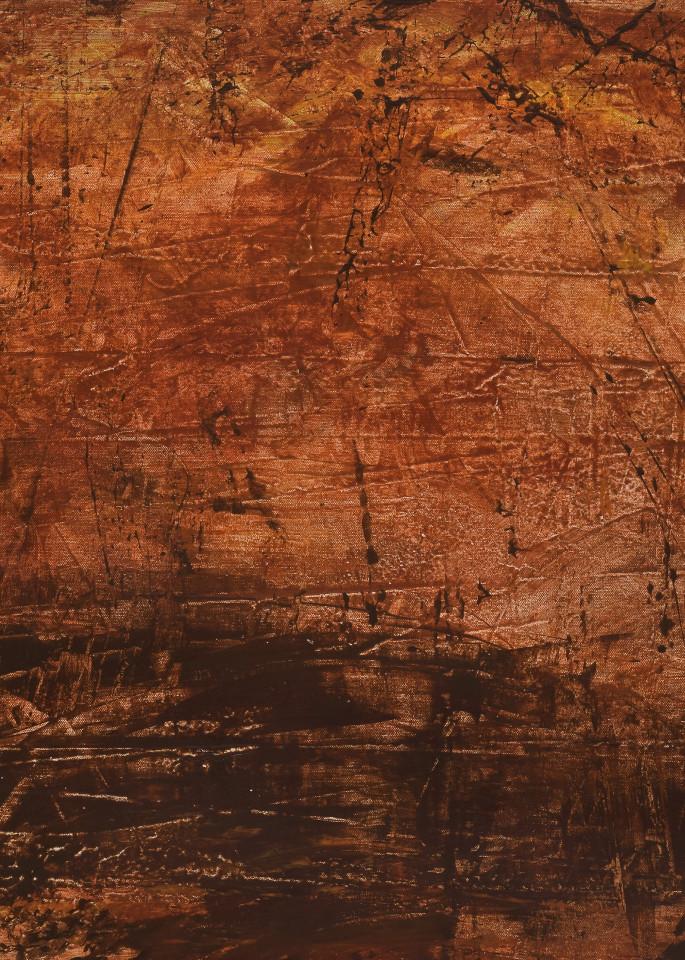 """Communion 2"" - triptych, left panel, by artist, Anton Uhl"