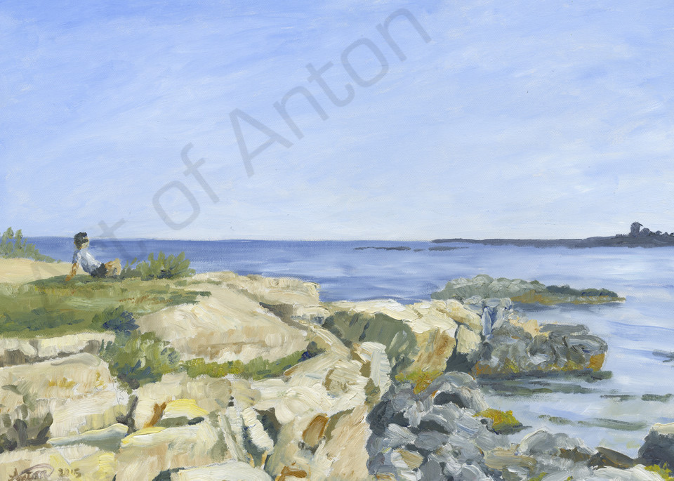 """""""Robert by the Sea"""" by artist, Anton Uhl"""