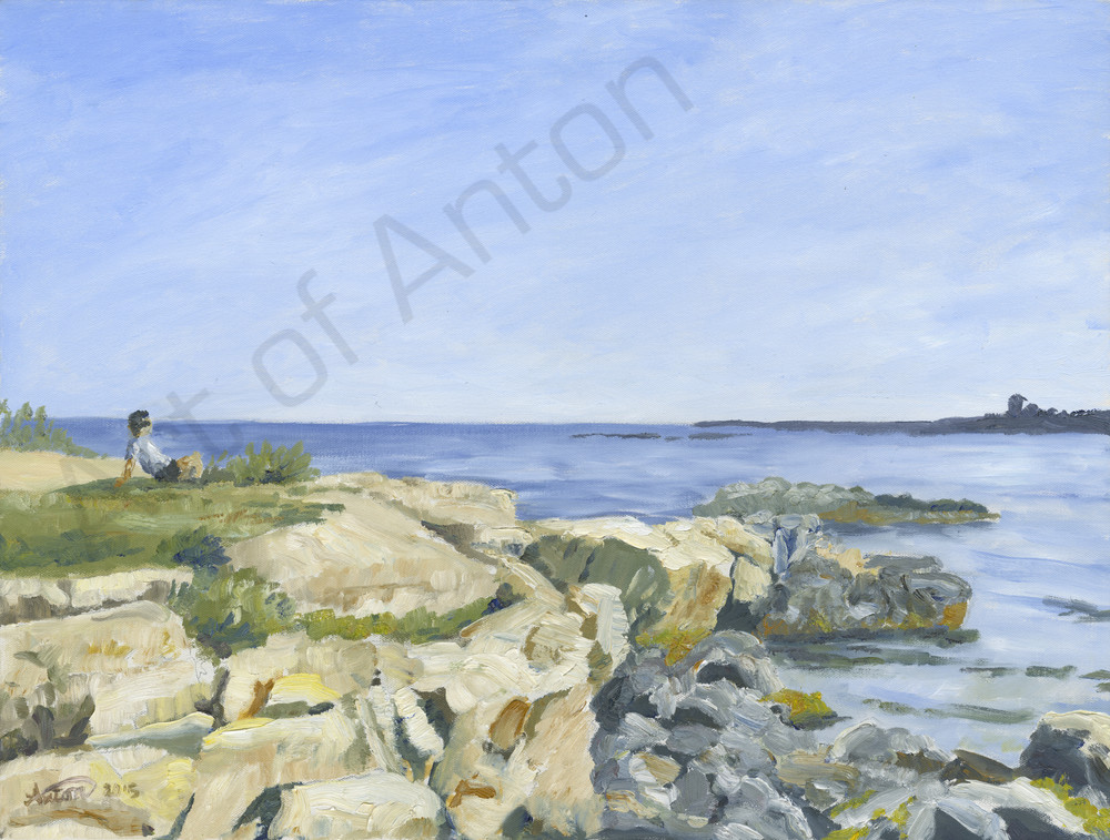 """Robert by the Sea"" by artist, Anton Uhl"