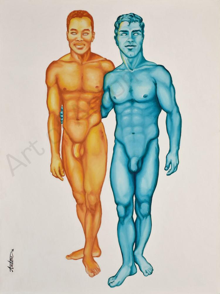 """""""Color Blind"""" by artist, Anton Uhl"""