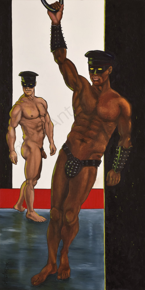 """The Gatekeepers"" by artist, Anton Uhl"