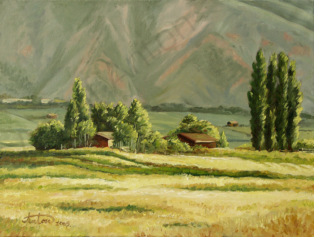 Emma Ranch by artist, Anton Uhl