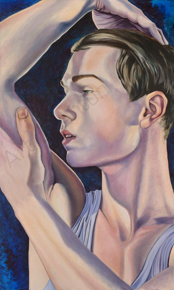 """The Dancer"" by artist, Anton Uhl"