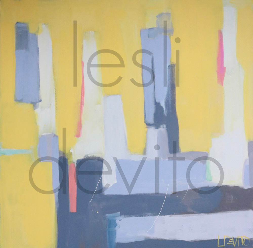 Lesli DeVito Fine Art Paintings | Abstracts | philly