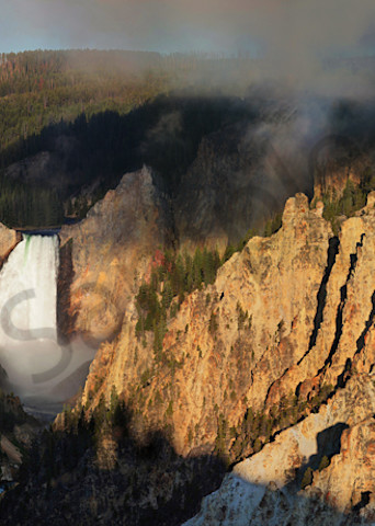 Grand Canyon Of The Yellowstone Art | Cunningham Gallery